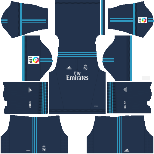 Kits Dream League Soccer: Kit Real Madrid Dls 16