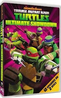 DVD Review - Teenage Mutant Ninja Turtles: Ultimate Showdown
