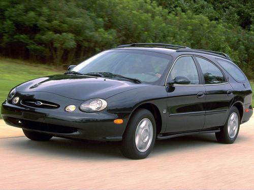 Car Style Critic: 1996 Ford Taurus Wagon: By Salvador Dali?