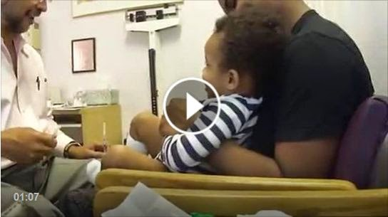 كيف تعطي حقنة على غفلة - أظرف طبيب فى العالم :)