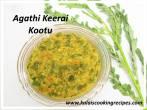 Agathi KeeraiGreens Kootu