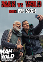 Man vs. Wild with Bear Grylls And P.M Narendra Modi In Hindi Full Episode 720p HDTV Free Download
