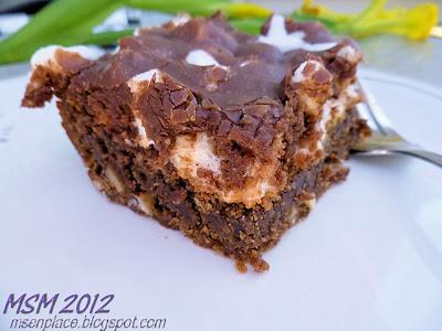 Heavenly Hash Cake