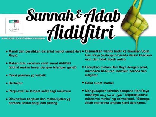 Salahkah Ingat Hari Raya Bila Tiba Hujung Ramadhan???
