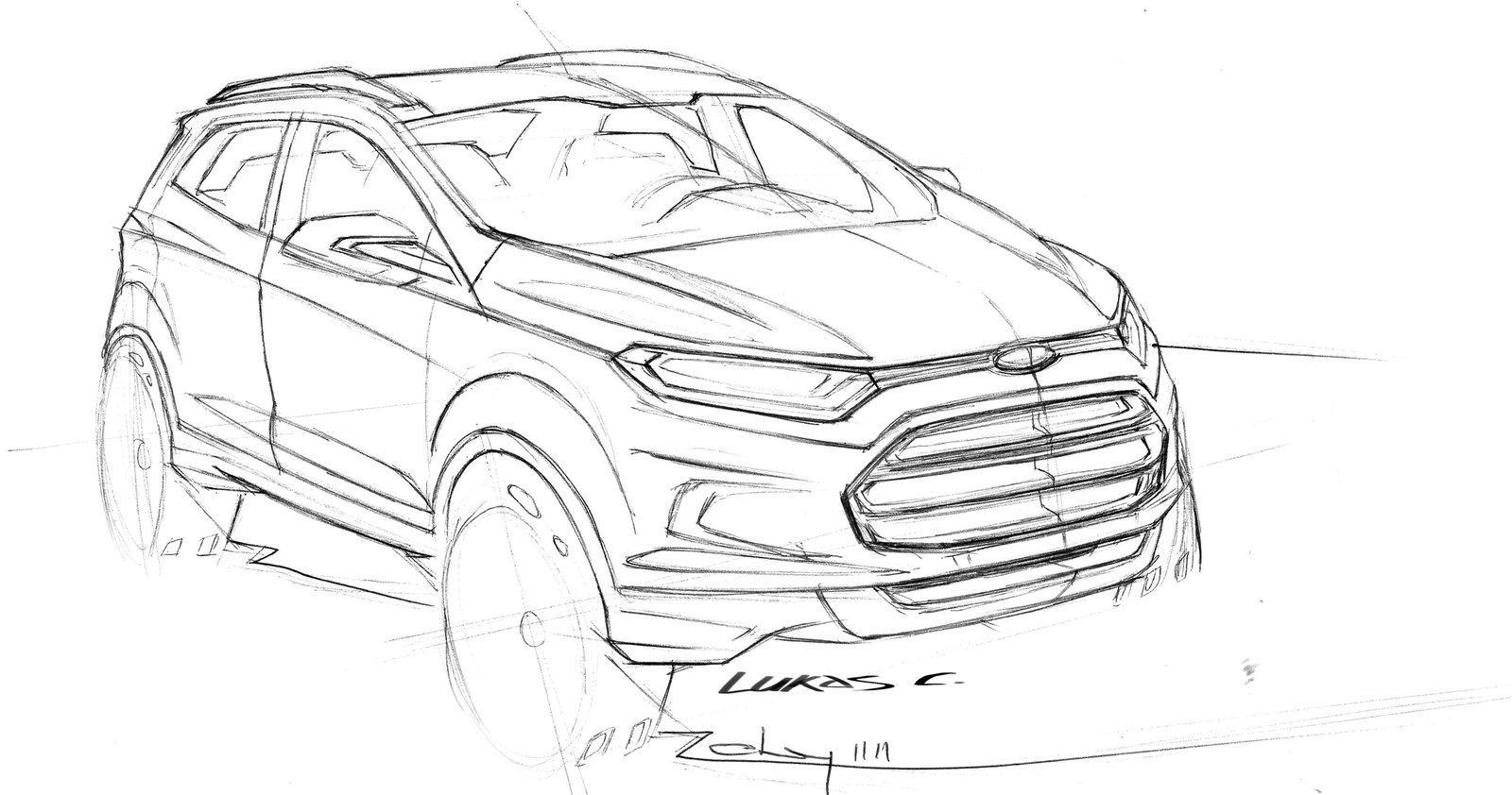 youngmanblog: Ford EcoSport compact SUV