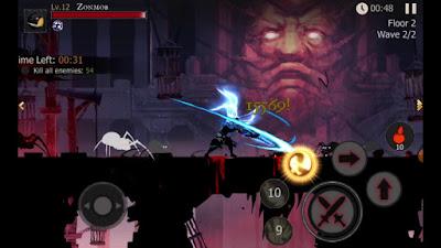 لعبة Shadow of Death للأندرويد، لعبة Shadow of Death مدفوعة للأندرويد