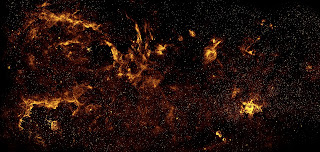 Center of the Milky Way Galaxy in Near-Infrared