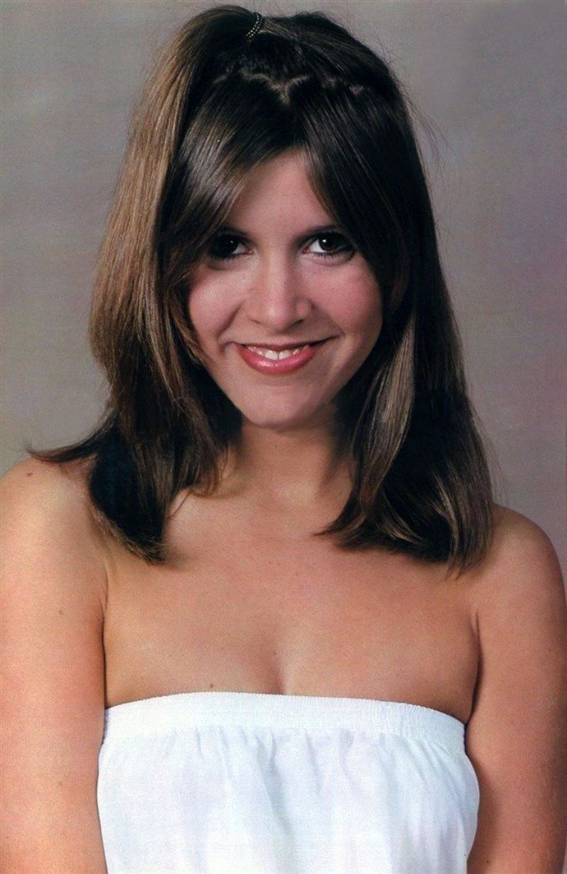 images of carrie fisher nude