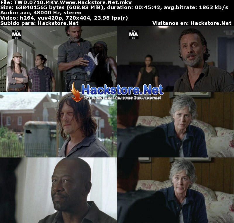 "Capturas de The Walking Dead 7×10 ""New Best Friends"""