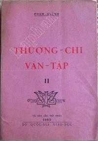 Thượng Chi Văn Tập 2 - Phạm Quỳnh