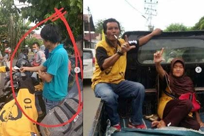 Peserta Kampanye Jokowi Berbaju Hanura Pose 2 Jari, Hanura: Ada Penyusup Mau Rusak Nama  Partai