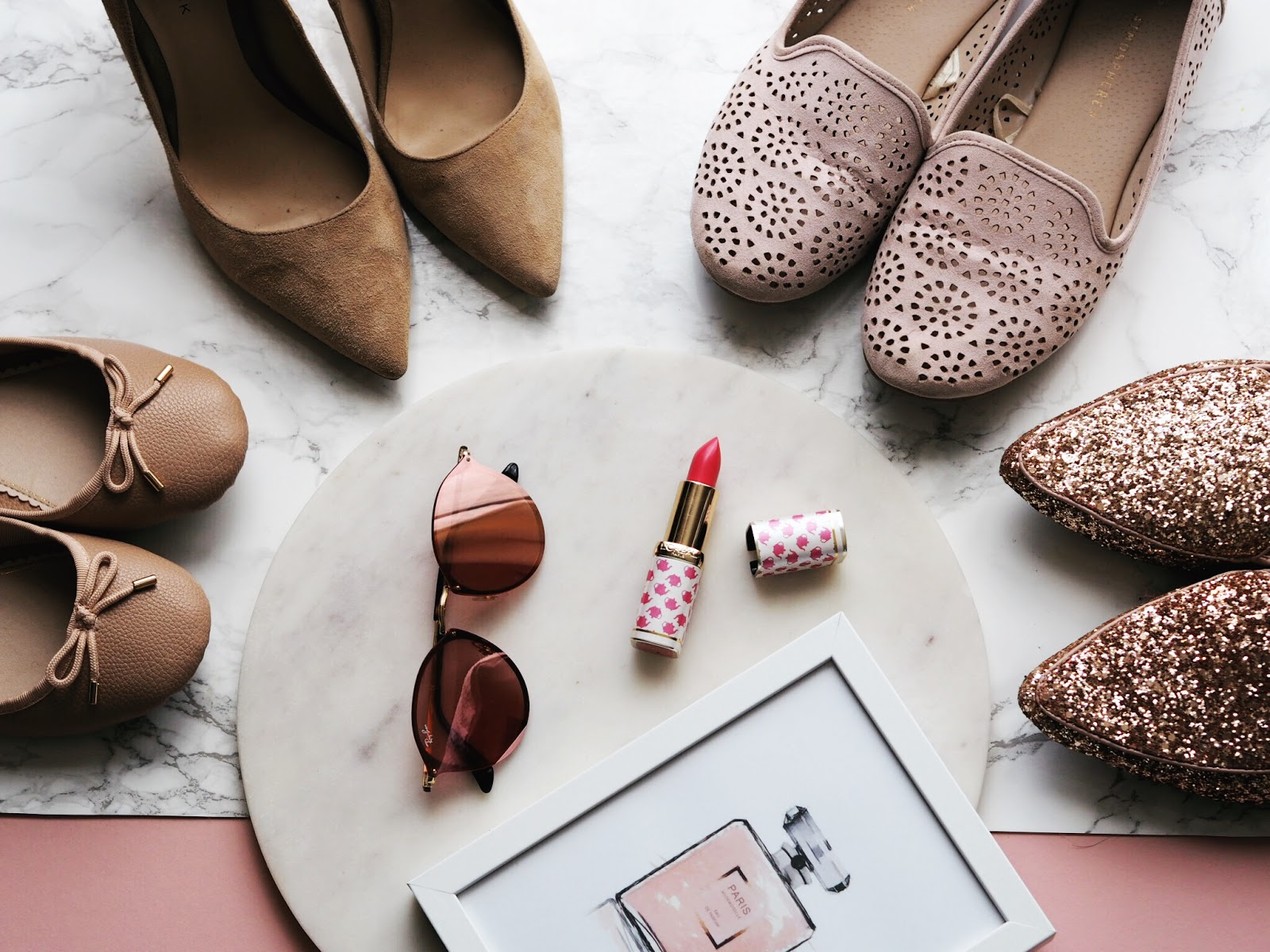 Summer Shoe Staples Nude Shoes