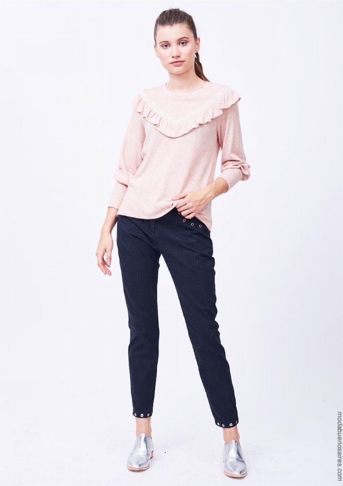 Blusas otoño invierno 2019 ropa de mujer. │ Moda otoño invierno 2019.