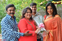 Sakshi Agarwal  in Orange Saree at Inauguration of Handloom And Handicraft exhibition ~  Exclusive 07.JPG