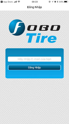Màn hình đăng nhập Fobo Tire