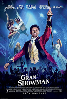 The Greatest Showman 2017 DVD R1 NTSC Latino