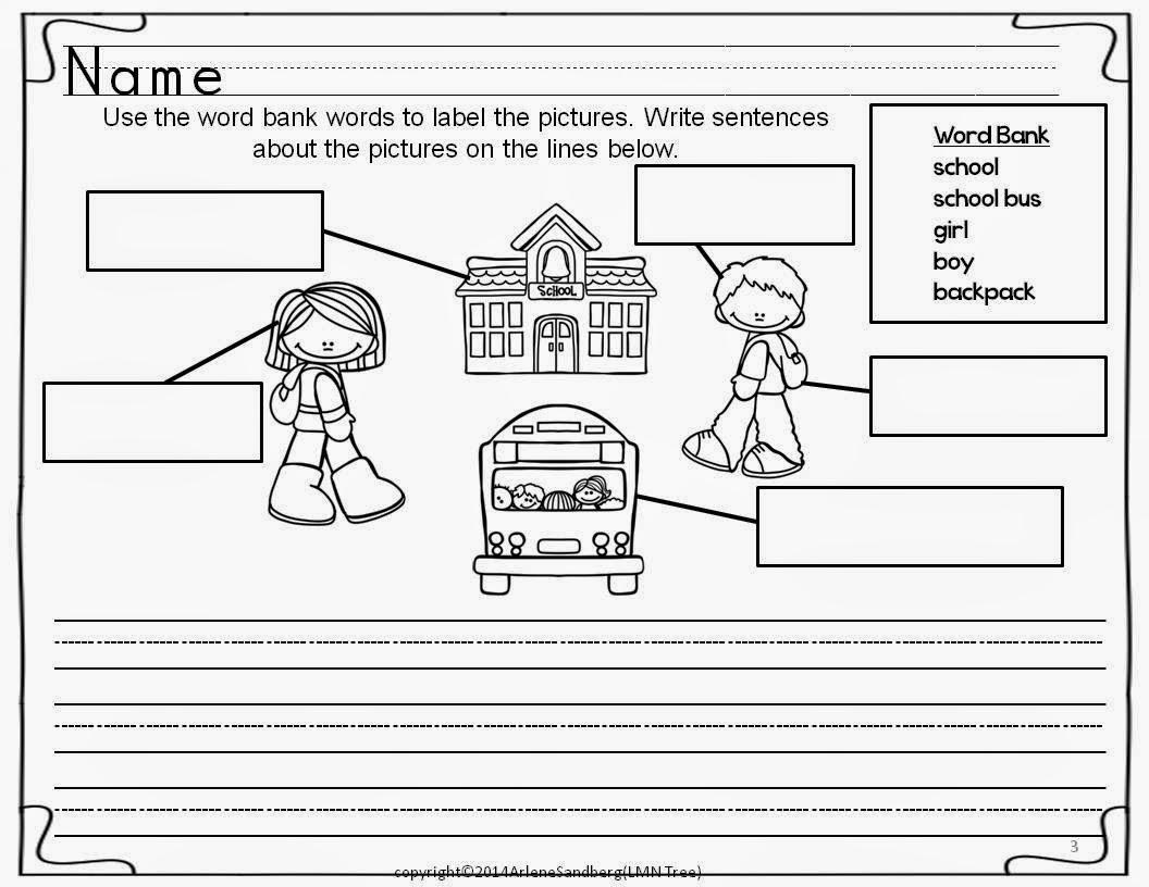 Classroom Freebies Back To School Writing Activities