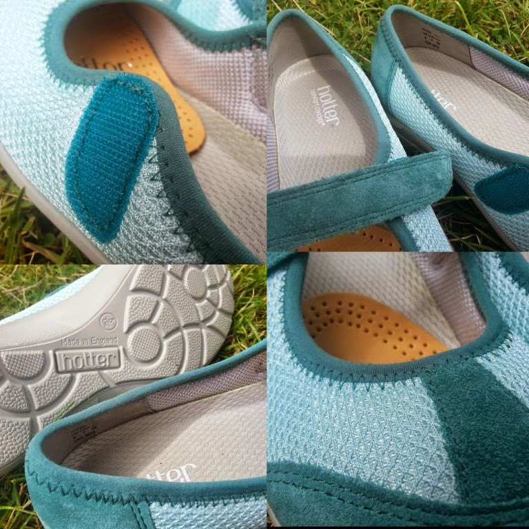 Hotter Shoes Range for Summer 2014 - review - the comfort concept and quality