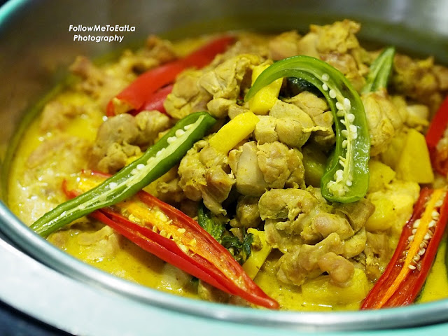 Thai Yellow Curry Chicken With Pineapple