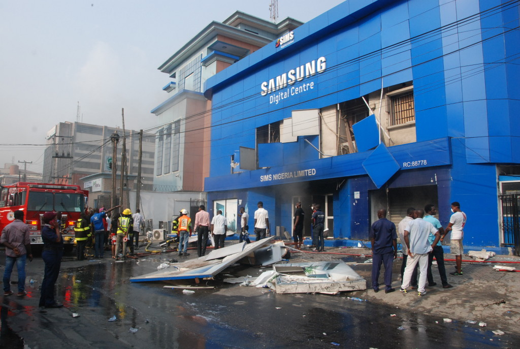 samsung digital office opebi ikeja lagos