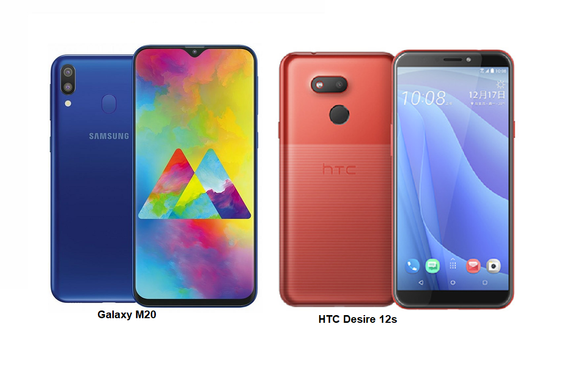 6196a0e12d179c TSPN1  HTC Desire 12s Vs Samsung Galaxy M20 Specs Comparisons