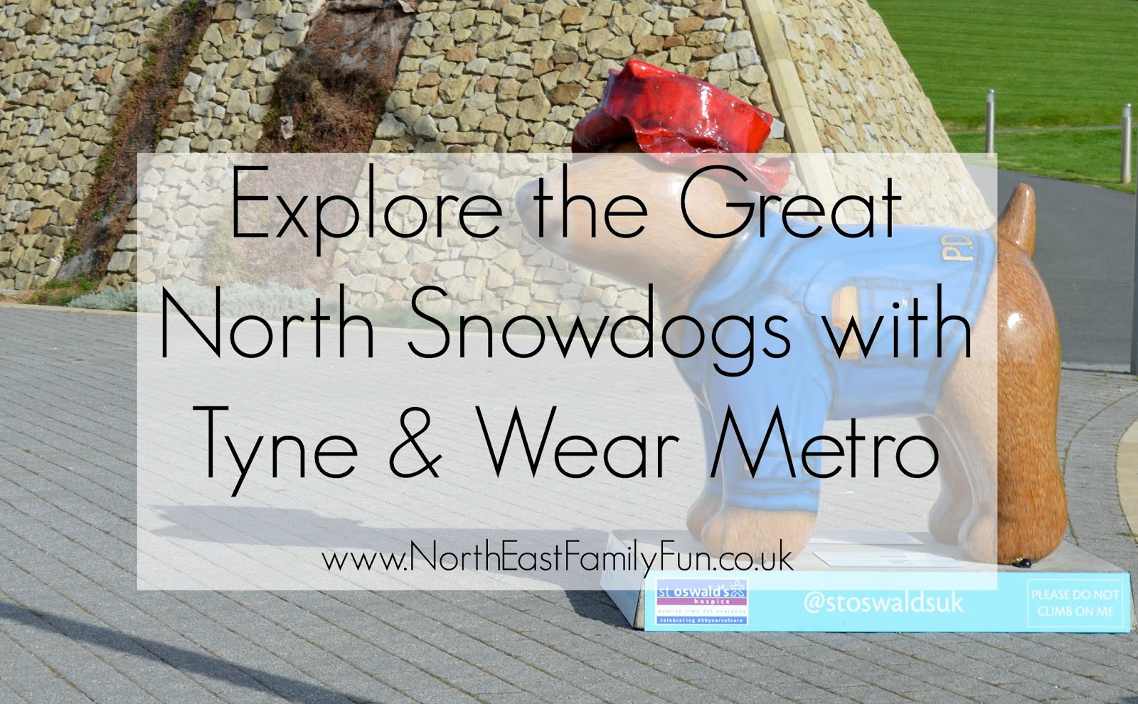 Explore the Great North Snowdogs with Tyne & Wear Metro
