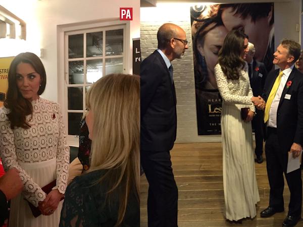 Księżna Cambridge na premierze filmu + więcej.