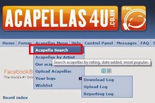 situs buat download acapella untuk bahan Remix lagu