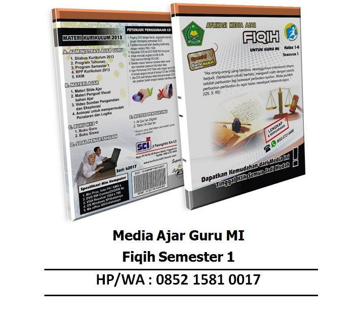 Aplikasi Media Ajar Mi Fiqih Semester 1