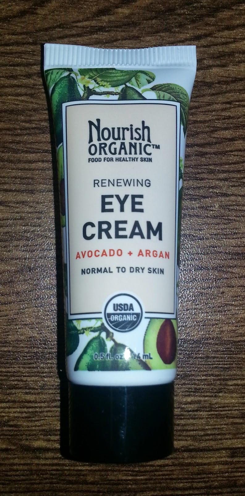 Nourish Organic Renewing Eye Cream