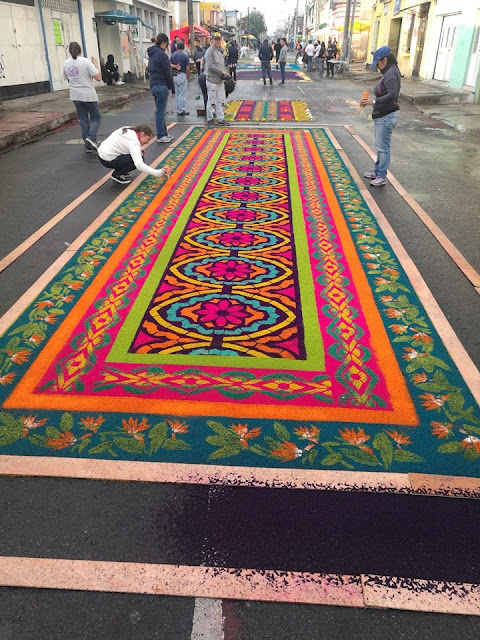 Saddust Carpets guatemala