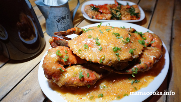 Fafi's Fusion - Bacolod restaurant- Singapore Chilli Crab
