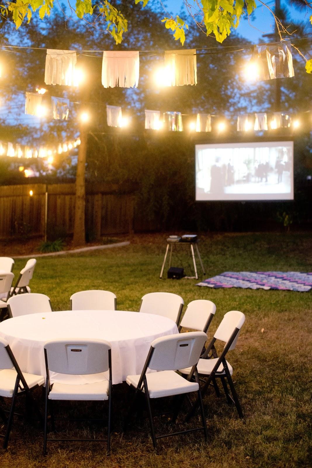 Domestic Fashionista: Fall Backyard Birthday Party and ...