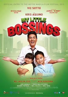My Little Bossings is a 2013 Filipino family-comedy film directed by Marlon Rivera, starring Vic Sotto, Kris Aquino, Ryzza Mae Dizon, and Bimby Yap.