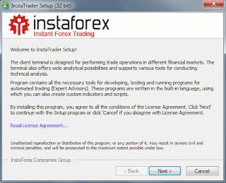 InstaForex Malaysia - panduan pemasangan mt4