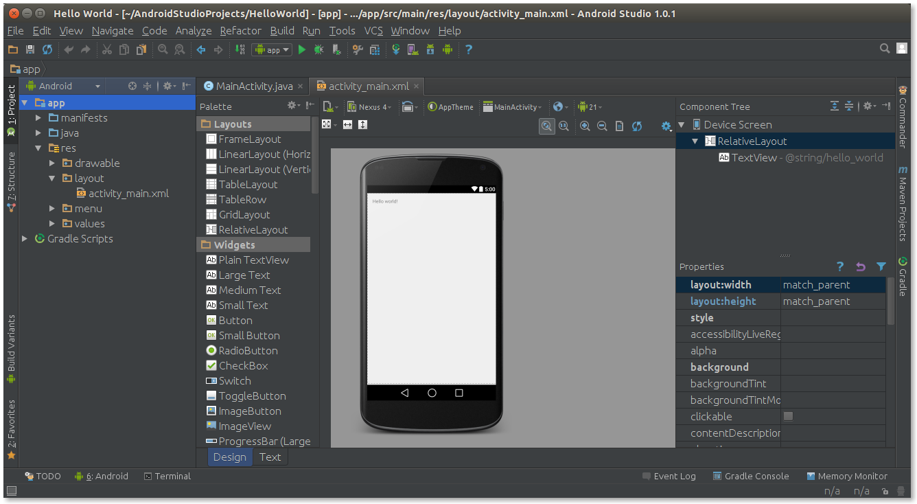 ANDROID STUDIO PDF DOWNLOAD