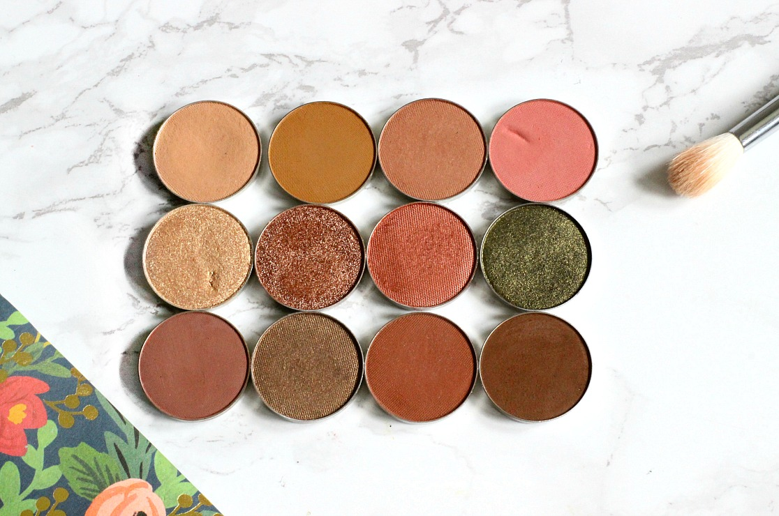 my must have makeup geek eyeshadows for asian skintones, brown girls