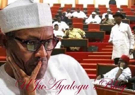 BREAKING: Senate Issues IMPEACHMENT Threat To Buhari, Osinbajo