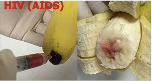 Attention! Are BANANAS Being Injected With HIV-AIDS (VIDEO)