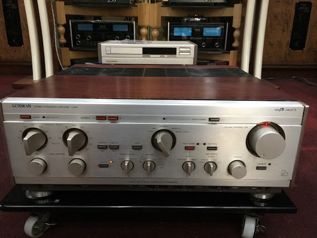 Amply Luxman 550 - Made in Japan