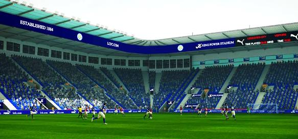 PES 2016 Leicester City Stadium