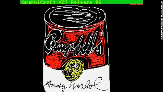 1969baf0302d Andy Warhol s Lost Computer Art Found 30 Years Later