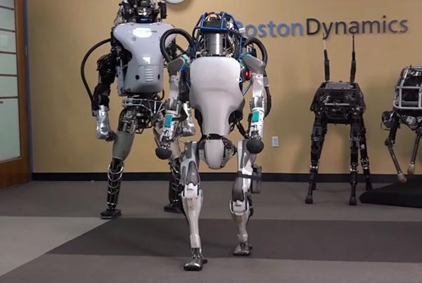Atlas Robot Videosu
