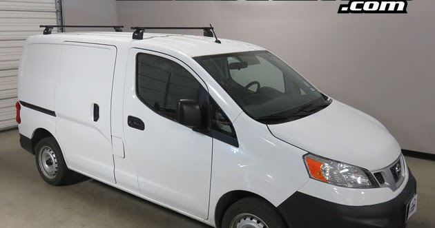 Rack Outfitters: Nissan NV200 Thule Podium SQUARE BAR Roof ...