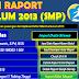 Aplikasi Raport SMP/ MTs Kurikulum 2013 dan Contoh Pengisian Raport (Rev. 2016)