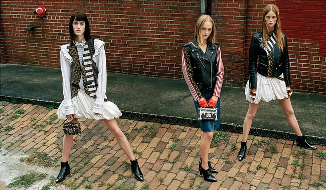 2016 SS Louis Vuitton Monogram Painted Leather Waistcoat Editorials