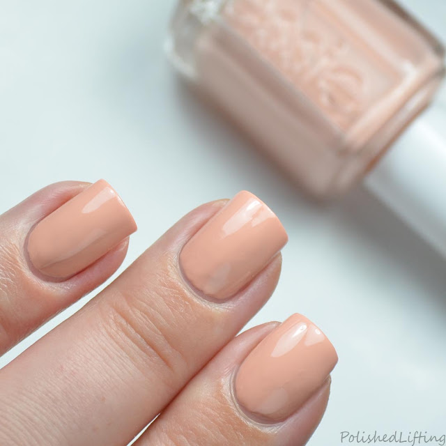 peachy nude nail polish