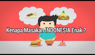 Mengapa Masakan Indonesia Enak-Enak ?, Rahasia Masakan Indonesia, Resep Masakan Indonesia, resep rahasia masakan tradisional rempah rempah indonesia, indra perasa sebenarnya, hidrogen sianida, rendang dan nasi goreng masakan indonesia go internasional menjadi masakan terenak di dunia
