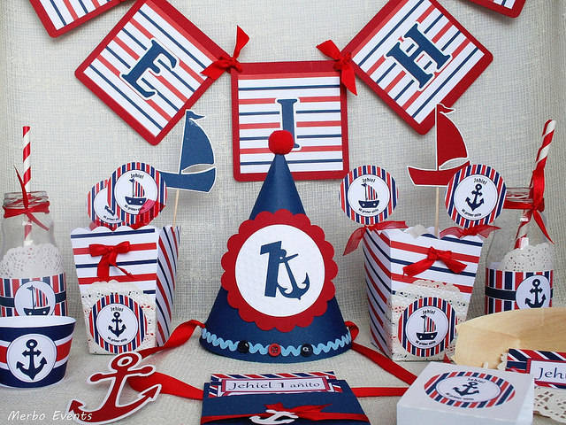Ideas para tu fiesta decoraci n para baby shower de marinero - Fiesta marinera decoracion ...