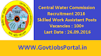 Central Water Commission Recruitment 2016